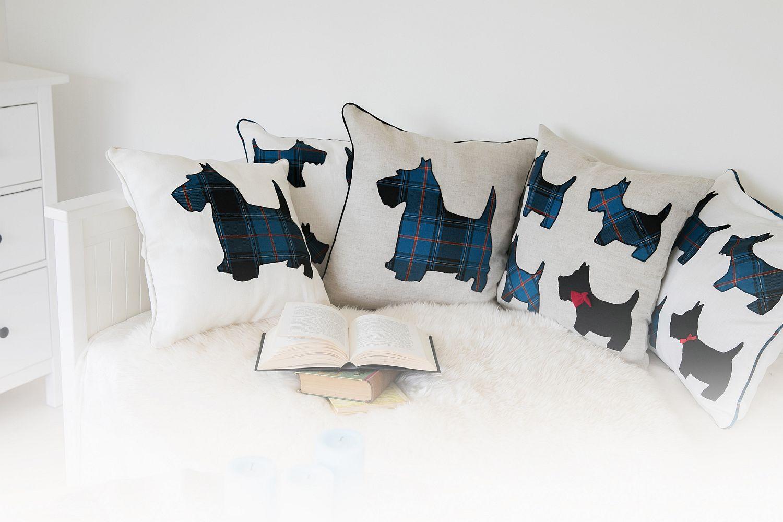 Šoti terjeritega padjad voodil