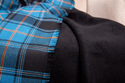 Estonian tartan plaid blanket