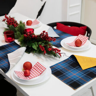 Estonian Tartan Table mat