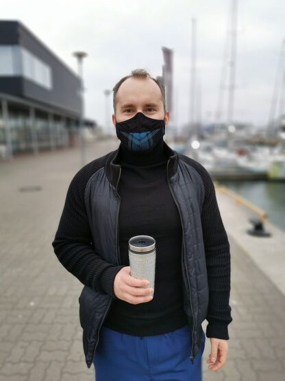 Estonian Tartan Mask