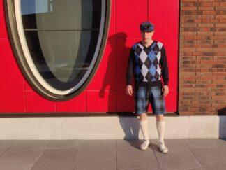 Eesti tartan lühikesed püksid